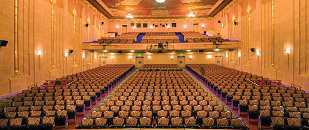 Image of Empty Theatre from Stage